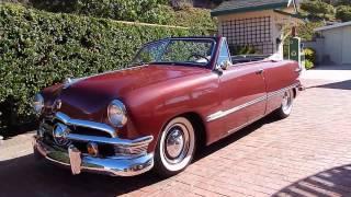 1950 Ford Convertible 2 Owner California Original