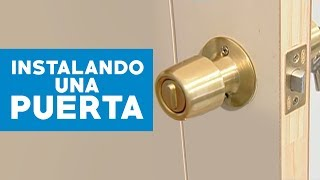 getlinkyoutube.com-¿Cómo instalar una puerta?