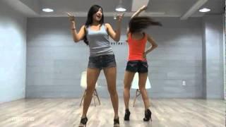 getlinkyoutube.com-SISTAR19 'Ma Boy' mirrored Dance Practice [Eng Sub]