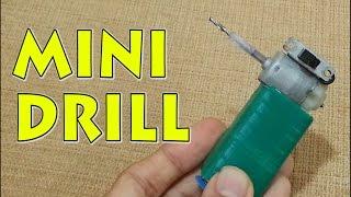 getlinkyoutube.com-How to make a Mini Drill at Home