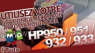 getlinkyoutube.com-Station De Recharge Automatique Encros pour HP950 et HP951 + HP932-HP933