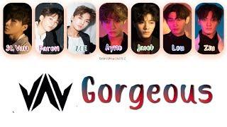 VAV (브이에이브이) – Gorgeous (예쁘다고)   Han, Rom, Eng [Color Coded Lyrics]