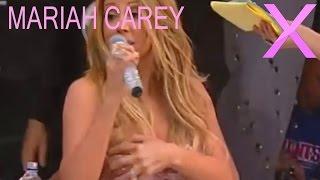 getlinkyoutube.com-Mariah Carey's Dress Comes off on Live TV