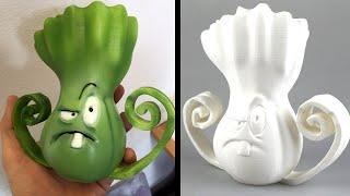 Plants vs. Zombies - 3D Printing!