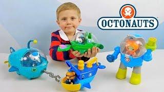 getlinkyoutube.com-ОКТОНАВТЫ и Даник - Играем с Пейзо и его лодкой. Видео для ребёнка. Octonauts Toys