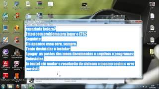 getlinkyoutube.com-Problema com euro truck simulator 2 parou de funcionar.