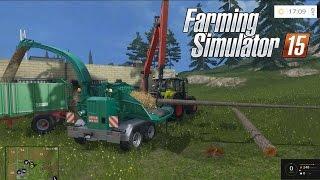 getlinkyoutube.com-Farming Simulator 2015 - Como Fazer Lascas De Madeira