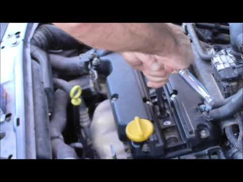 2008 Opel Astra 1.4 cc h Как заменить свечи зажигания Como reemplazar las bujias Yiannis Pagonis