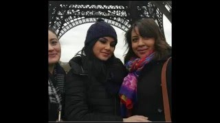 getlinkyoutube.com-صور وفيديوهات المغربية حنان الخضر في باريس