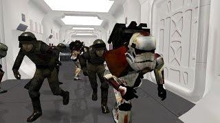 getlinkyoutube.com-Star Wars Battlefront 2 HD - Infection Mode / Death Trooper mod