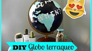 getlinkyoutube.com-DIY Globo terraqueo decorativo! // Michelle Benoit