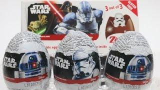 getlinkyoutube.com-Star Wars Surprise Eggs  スターウォーズ チョコエッグ