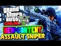 GTA 5 Online - NEW Leaked DLC Assault Sniper & The Monster Truck Leaked GTA V Gameplay DLC