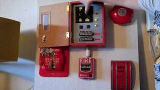 Fire alarm board demonstration