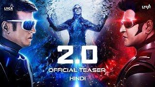 2.0 - Official Teaser [Hindi] | Rajinikanth | Akshay Kumar | A R Rahman | Shankar | Subaskaran