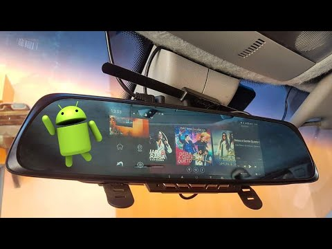 Retrovisor Multimidia com Android e DVR da ANSTAR