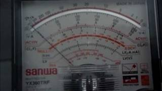 getlinkyoutube.com-Multimeter Analog