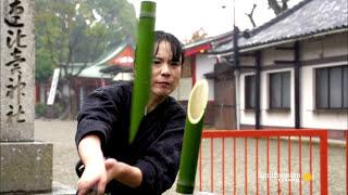 getlinkyoutube.com-A Demonstration of Perfect Samurai Swordsmanship