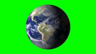 getlinkyoutube.com-earth in green screen animation