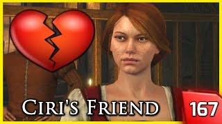 getlinkyoutube.com-The Witcher 3 ► Bea, Ciri's Friend Flirts with Geralt #167