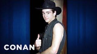 getlinkyoutube.com-Colin Farrell Was A CMT Country & Western Line Dancer - CONAN on TBS