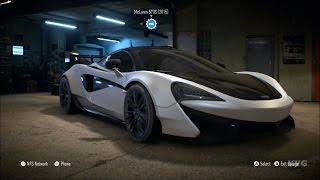 getlinkyoutube.com-Need For Speed 2015 - McLaren 570S 2015 - Customize Car | Tuning (XboxONE HD) [1080p]