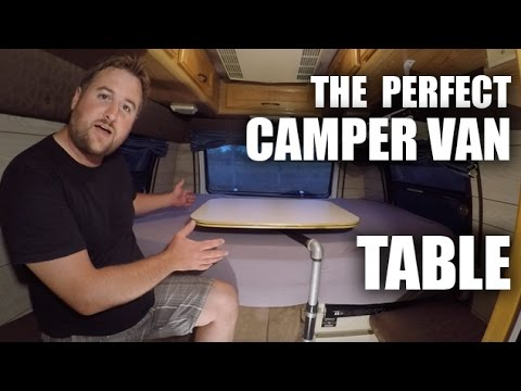 GGC - 61 - How To Build The Perfect Camper Van Table