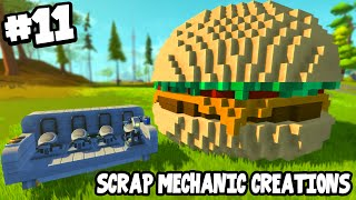 getlinkyoutube.com-Scrap Mechanic CREATIONS! - CRAZY VEHICLES!! [#11] W/AshDubh   Gameplay  