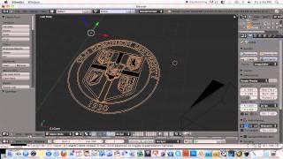getlinkyoutube.com-Blender-Converting 2D Image to 3D Object