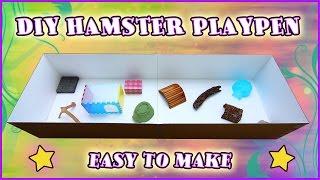 getlinkyoutube.com-Easy $3 DIY Hamster Playpen