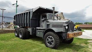Massive Mack Dump Truck