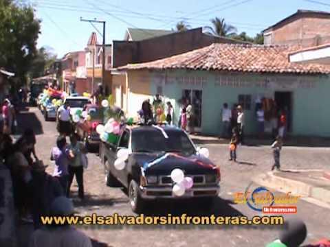 Inicio de las Fiestas de Intipucá 2012