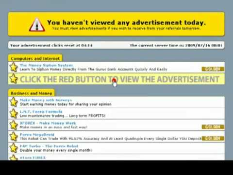 Learn How I Earn $102.43 By Just Clicking Ads ( Make Money Online at Home / Home Working )