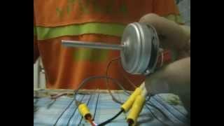 getlinkyoutube.com-Мой самодельный бк мотор из CD-ROM для авиамодели
