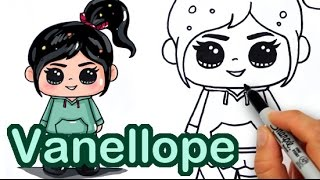 getlinkyoutube.com-How to draw Vanellope