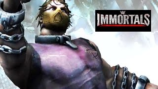 getlinkyoutube.com-WWE Immortals - DEAN AMBROSE Lunatic Fringe Move Attacks [Android/iPad]