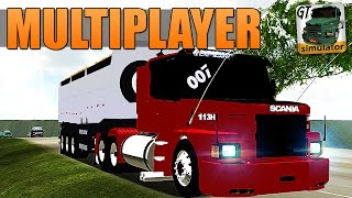 getlinkyoutube.com-Grand Truck Simulator Multiplayer - SKIN PARA SCANIA 113H