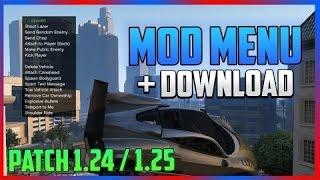 getlinkyoutube.com-How To Install ModMenu GTA 5 1.24/1.25