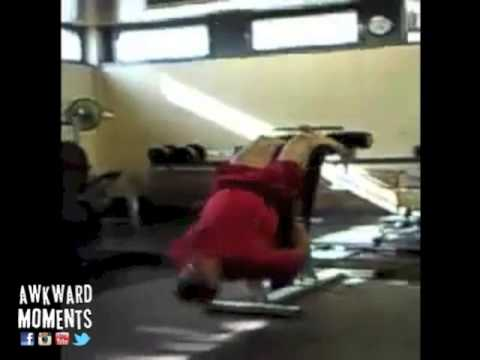 Awkward Gym Moments - GYM FAILS COMPILATION