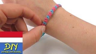 getlinkyoutube.com-Gelang tangan dengan corak yang cantik dan spiral diujungnya