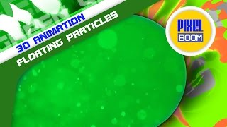 getlinkyoutube.com-Green Screen Chroma key Organic Floating Particles HD - Footage PixelBoom