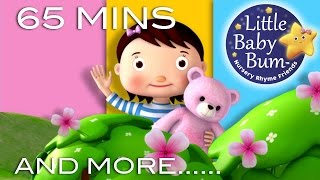 Teddy Bear Teddy Bear | Plus Lots More Nursery Rhymes | 65 Minutes Compilation from LittleBabyBum!
