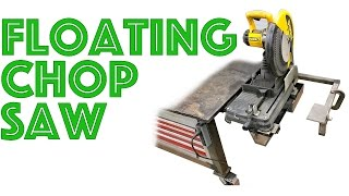 getlinkyoutube.com-Building a Chop Saw Stand - Space Saving Design