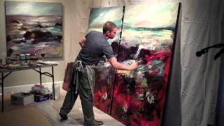 Christopher Mathie Live Painting Performance (8:26 min. edit)