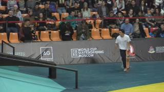 getlinkyoutube.com-World Cup Skateboarding Moscow 2016 finals (2nd round of 3) 20161015