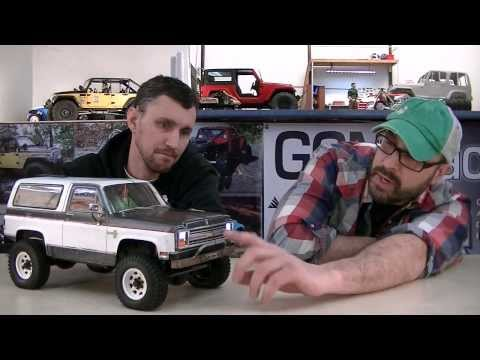 ScaleGarage Rig Review - Dana's K5 Blazer 4x4