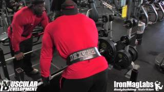 getlinkyoutube.com-In the Trenches | Dexter Jackson trains back