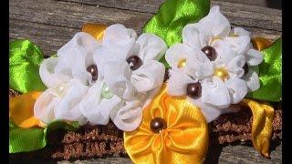 getlinkyoutube.com-Nova tecnica de fazer  Flores- Passo a Passo-  fabric flowers
