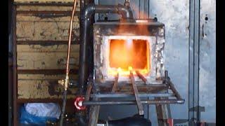 getlinkyoutube.com-طريقة صنع فرن محلي لزخرفة الفيرفورجيه وتذويب الالومنيوم  Iron Furnace