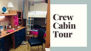 getlinkyoutube.com-Crew Cabin Tour - Royal Princess Cruise Ship